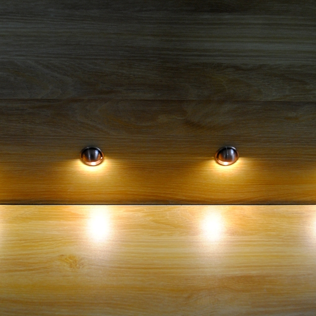 Dhlpack of 30 led deck light for garden waterproof step lighting dhlpack of 30 led deck light for garden waterproof step lighting outdoor yard aloadofball Image collections