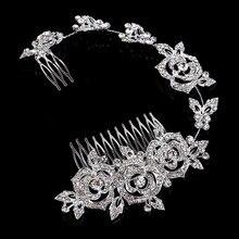 Door bridal accessories jewelry headdress married Crown 112