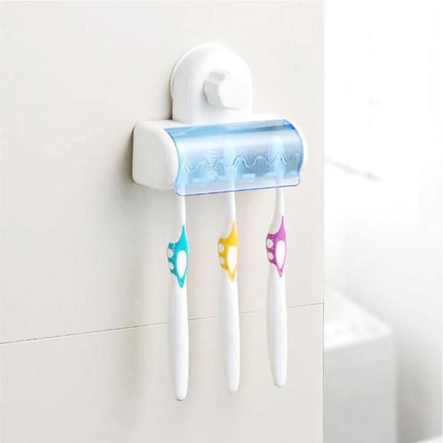 nieuwe plastic stofdicht tandenborstelhouder badkamer
