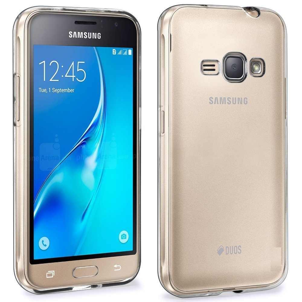 Samsung Galaxy J1 2016 kılıf şeffaf şeffaf TPU jel cilt Samsung J1 2016 J120 J120F SM-J120F koruyucu silikon kapak