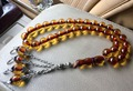 New imitation amber color Islam arabic prayer beads rosary allah muslim tasbih car-office-home hanging masbaha misbaha tesbih