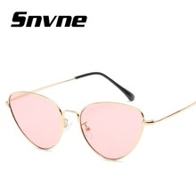 2019 metal frame Retro cat eyes sun glasses for sunglasses women summer style classic mirror oculos