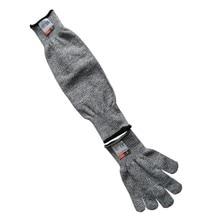 1 шт. дышащий уровень 5 наружная рабочая Безопасность Защита руки рукав анти-режущий защитный режущий рукав дропшиппинг