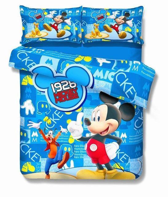 Heißer Mickey Mouse Bettwäsche Sets Kinder Jungen Schlafzimmer