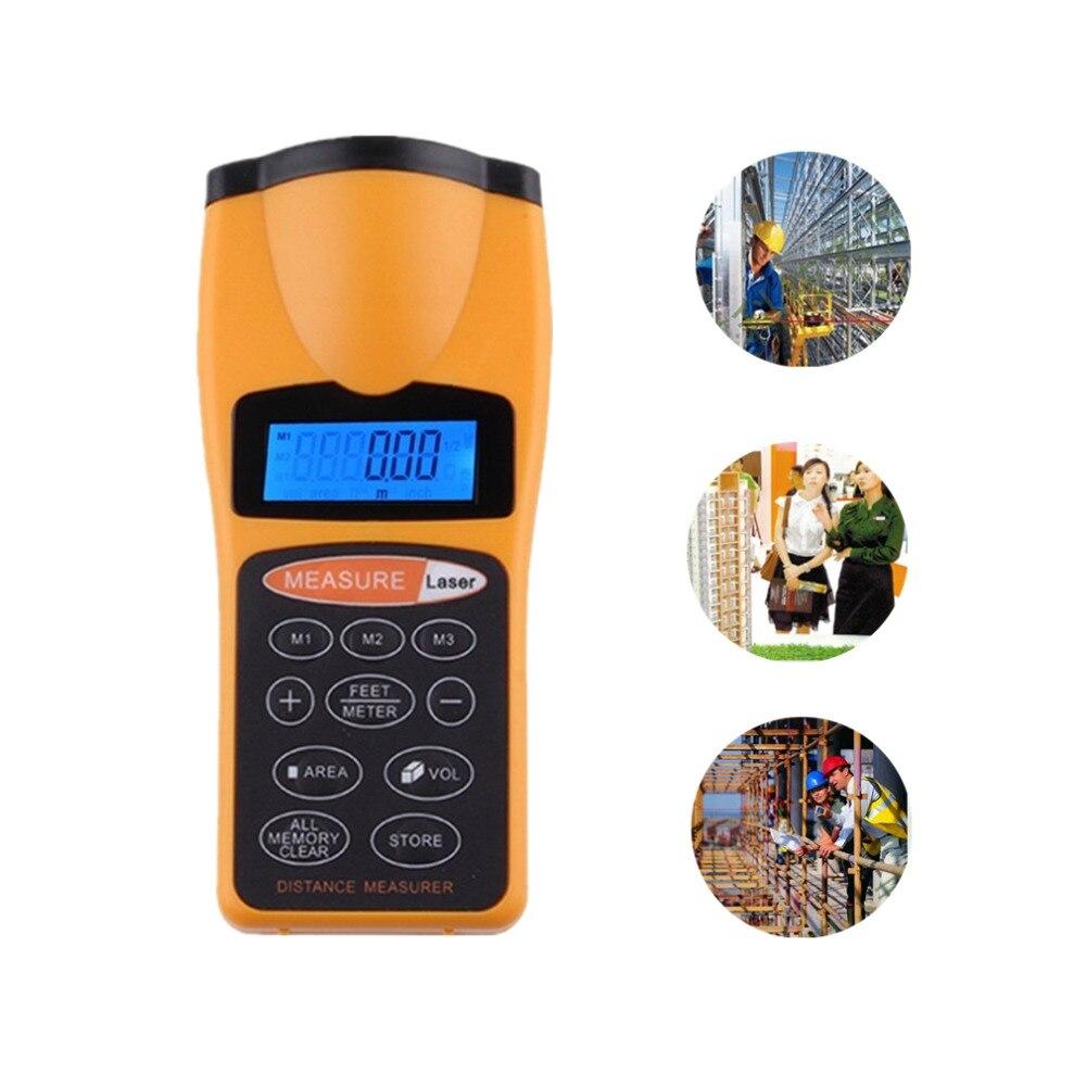 Dropshipping medidor medidor laser rangefinder medidor de distância a laser rangefinders caça laser fita métrica trena digital