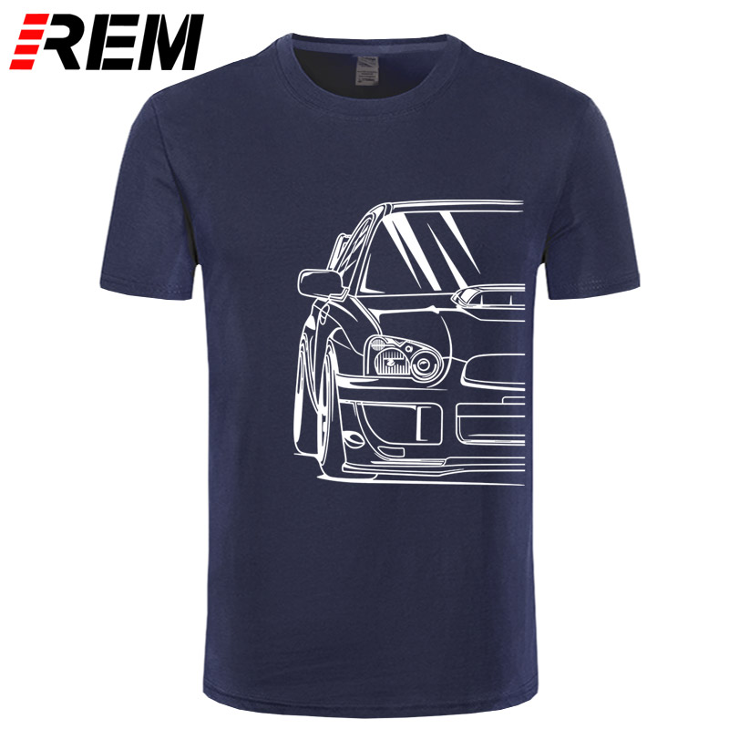 Fashion Hot Sale 100% Cotton Japanese Classic Car Wrx Sti | JDM TUNER CAR APPAREL TURBO SUBIE IMPREZZA AUTOMOTIVE T-SHIRT