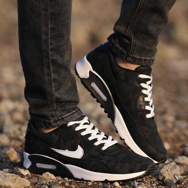 2015 nouveau mode hommes Sneakers chaussures de Sport baskets Zapatillas  Hombre Chaussure Casual Homme coussin d