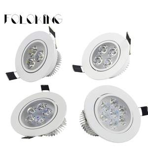 Downlight Dimmable Recessede Super-Bright Ceiling-Lamp LED 9W CREE 12W 110V 220V 21W