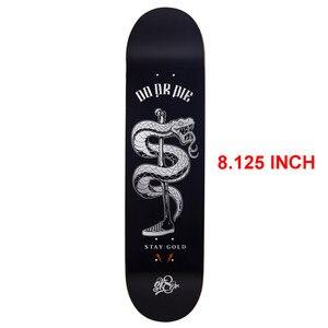 Image 3 - SK8ER Canadese Maple Skateboard Decks di Qualità da 8.125 pollici 8 Strati di Acero Canadese Skate Deck Per lo Skateboard Outdoor Sporting