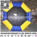 mini floating inflatable water trampoline for aqua fun