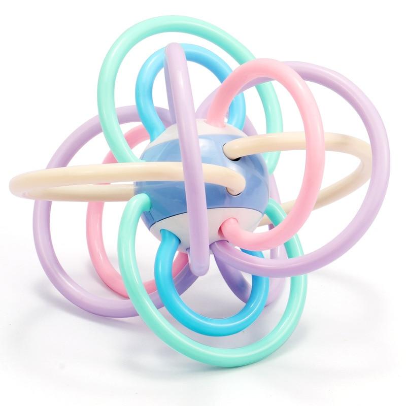15 * 13.5 cm de seguridad de silicona mordedura dentición bolas - Juguetes para niños