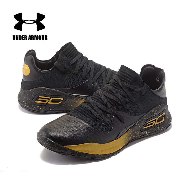 best loved a20aa 349d9 High Quality Under Armour UA Men Curry 4 Basketball Shoes Light Sport  Sneakers Outdoor Top Unique Socks Design Cushioning Shoes