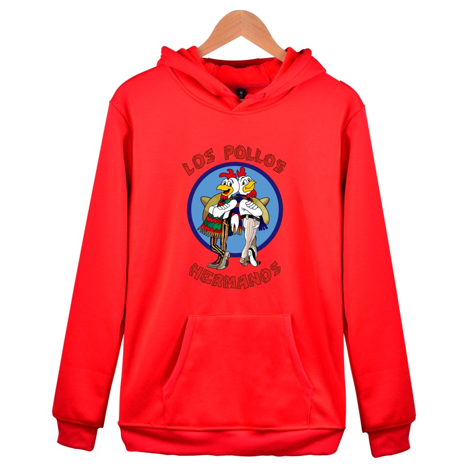 LOS POLLOS HERMANOS Winter Hoodies Men Sweatshirts Hooded Pullover Hipster Brand Harajuku Funny Sweatshirt Men
