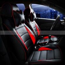 Пользовательские кожаные сиденья спереди и сзади полный набор автомобиля подушки аксессуары интерьера для Hyundai Solaris Getz Elantra ix35