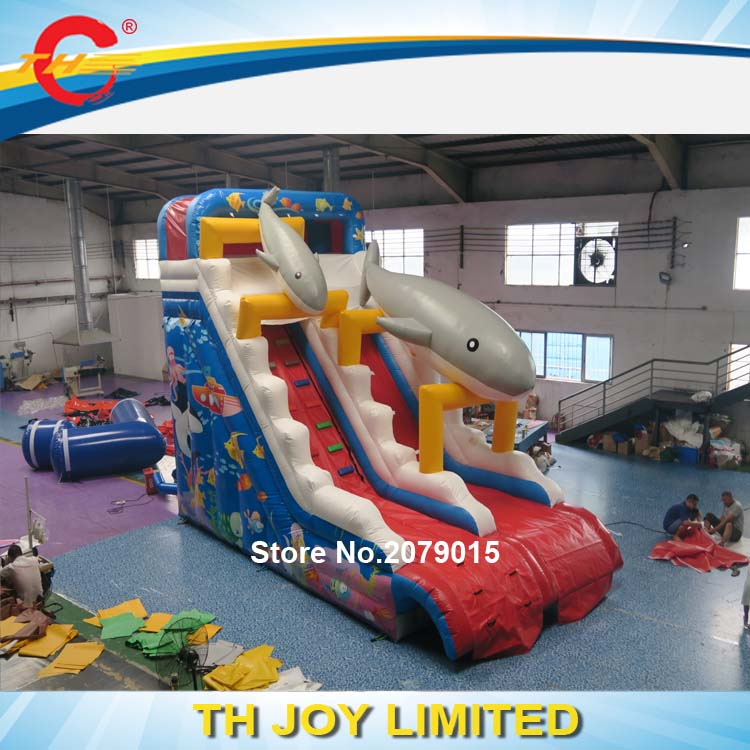 Inflatable Water Slide Party Rentals: Free Shipment To Sea Port!sea World Inflatable Water Slide