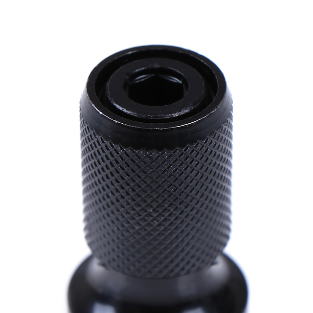 1 pièces 1/2 pouce carré à 1/4 pouces CRV adaptateur à douille hexagonale convertisseur de mandrin de forage femelle