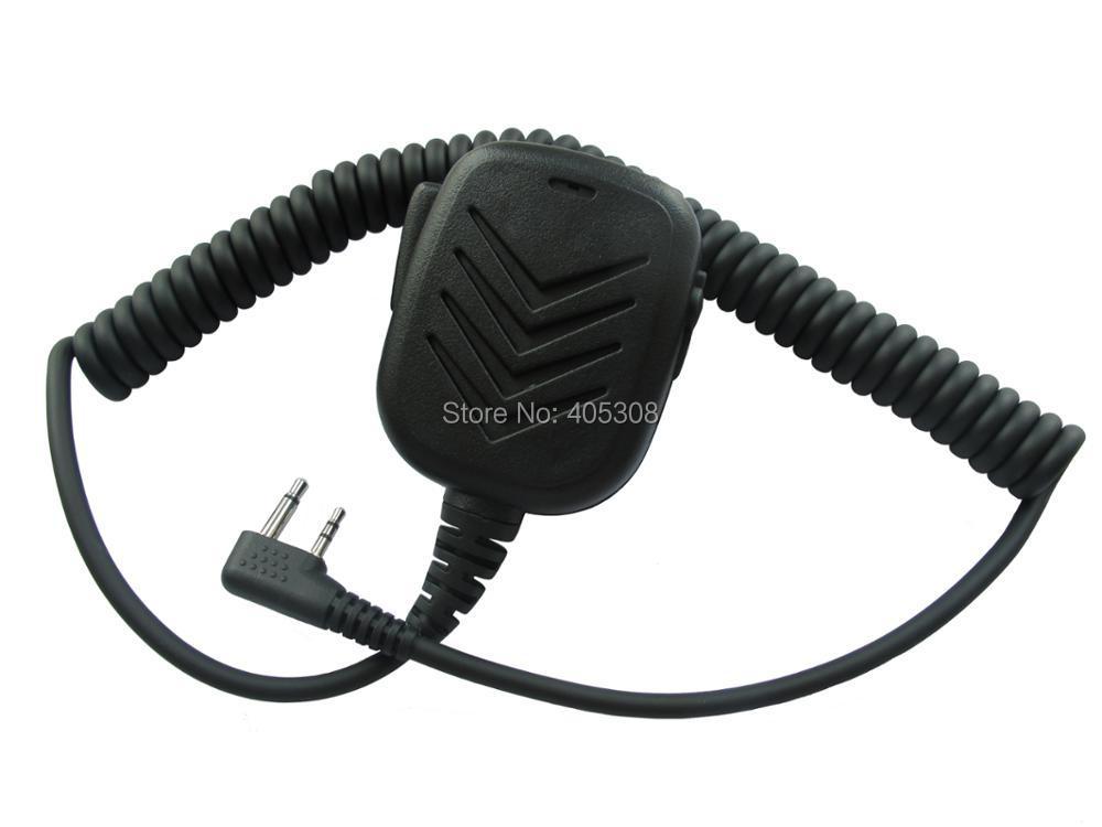 V8 V80 V80E V82 V85 Portable Radio Remote Speaker Mic For ICOM IC