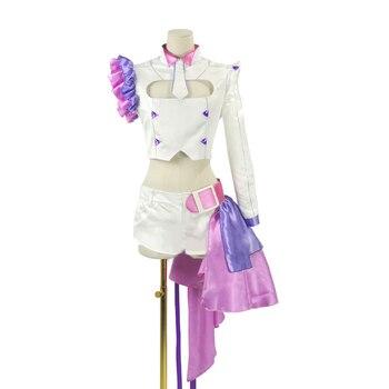 Macross Delta Makina Nakajima Cosplay Costume Stage Performance Clothes,Perfect Custom for You !