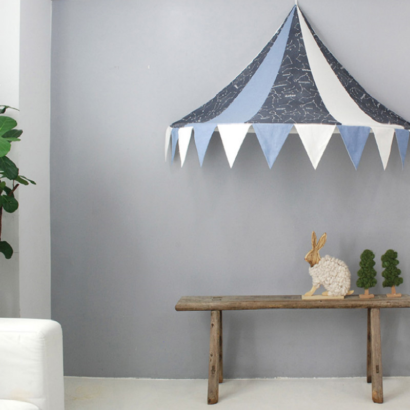 2016 New Children Play Tent Kids Teepees Hanging Kids tent Cotton Canvas Tipi and Mosquito Net Play House for Baby Room hot sale eco friendly tent for kids cotton canvas toys tent