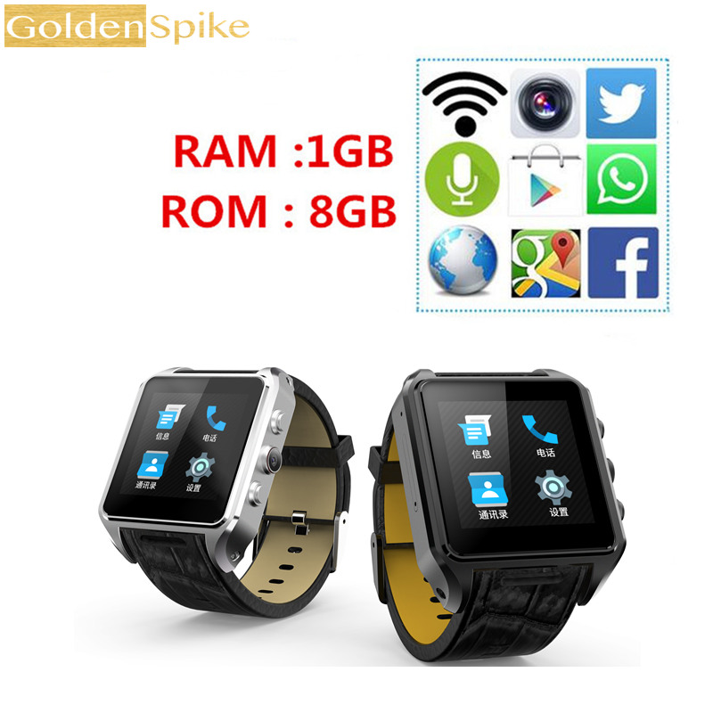 Android Smart Watch X01 plus With GPS WIFI Bluetooth Camera Support Sim Card 1.54 Screen 1GB Ram 8GB Rom Smartwatch Phone children s smart watch with gps camera pedometer sos emergency wristwatch sim card smartwatch for ios android support english e