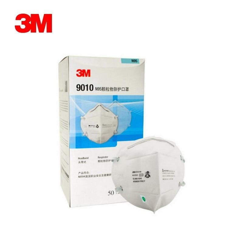 10pcs Flu Pm H1n1 9010 2 Anti Safety Mask N95 5 5 Dust 3m