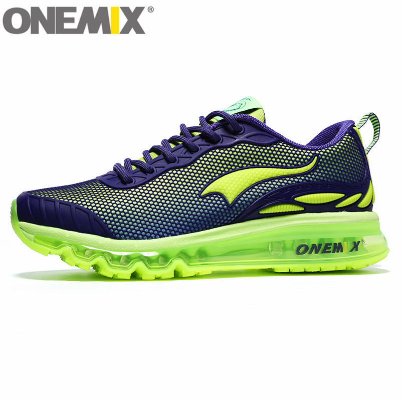ONEMIX Air Breathable Mesh Men&Women Sport Sneakers Chaussure Running Shoes For Men New Female Walking Sneaker trainers onemix breathable mesh women sport sneakers chaussure running homme men jogging shoes comfortable men shoes sales size us 6 5 12