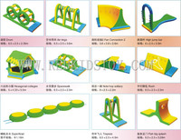 CE Approved Water Inflatable Park Set Top Quality Inflatable Water Games HZ E005