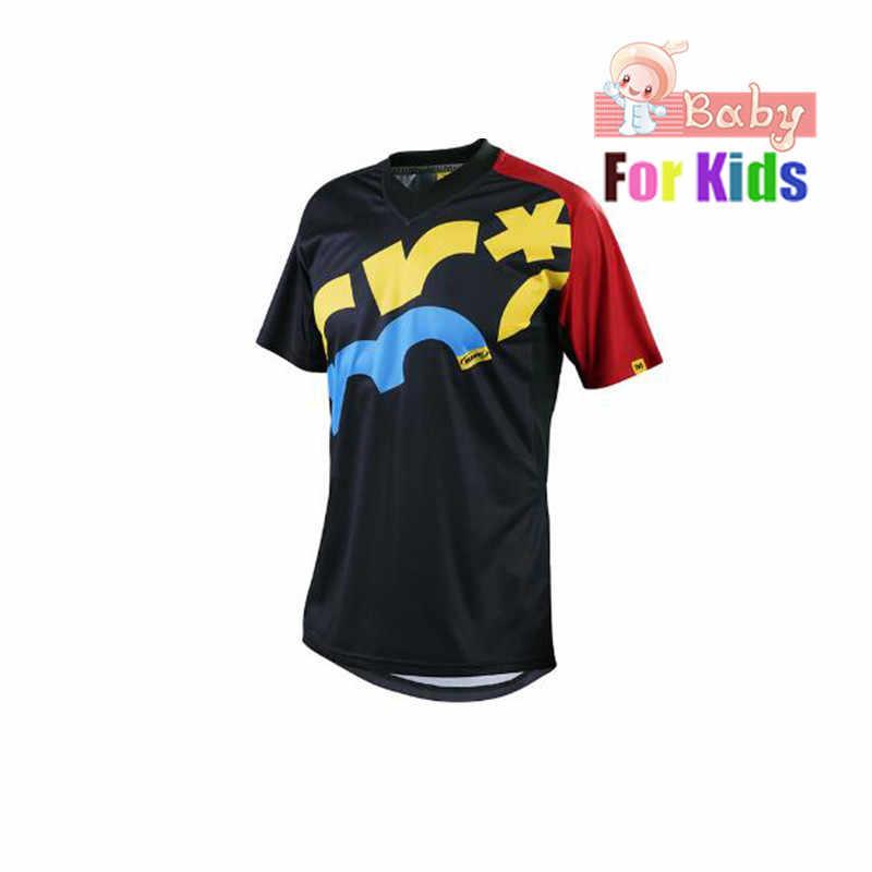 219780c2696d Detail Feedback Questions about 2018 Kids Short Mountain Bike Jersey ...