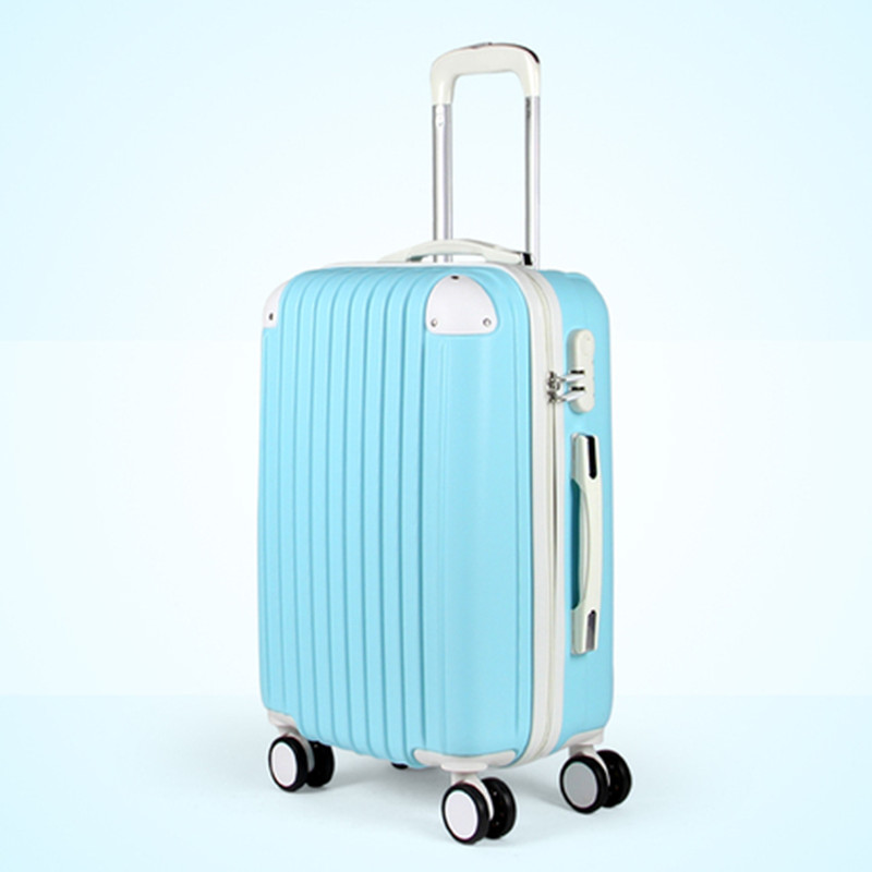 KUNDUI Europe Classic Design style Luggage suitcase rolling unisex 20 24 28 inch Multiple color Expandable Spinner Trolley Bag