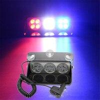 CYAN BODEN BAY 24 Watt 12 led Auto dash stroboskop windschutzscheibe Warnung blitzlicht Polizei Feuerwehr truck Notfall blink Nebel lampe