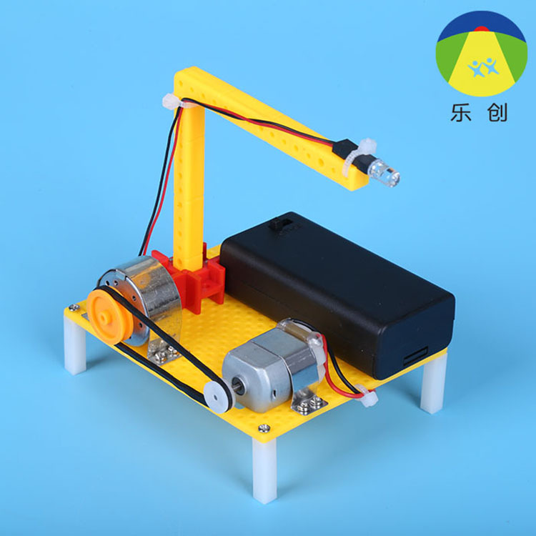 Elementary Student Science And Technology Small Making DIY Material Electric Generator Model  Physical Experiment Toy  Assembly