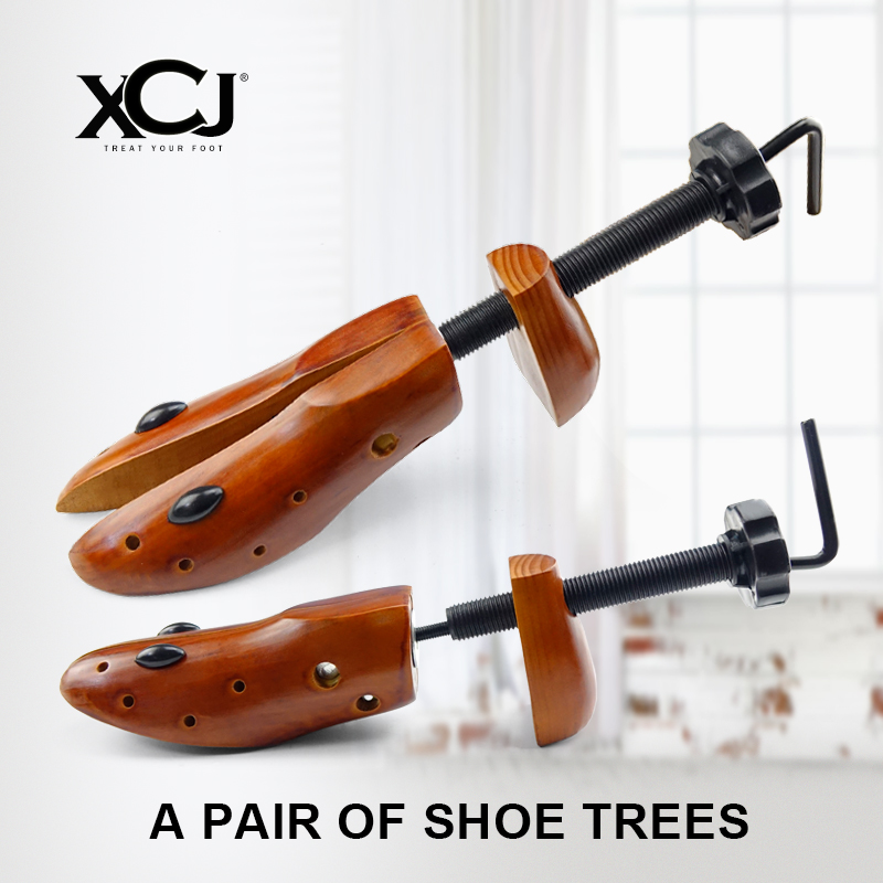 Shoe Tree 1 Pair Wooden For Men and Women Shoes Expander shoes Width and height Adjustable Shoe Stretcher Shaper Rack XCJ fashion rabbit and grass pattern 10cm width wacky tie for men