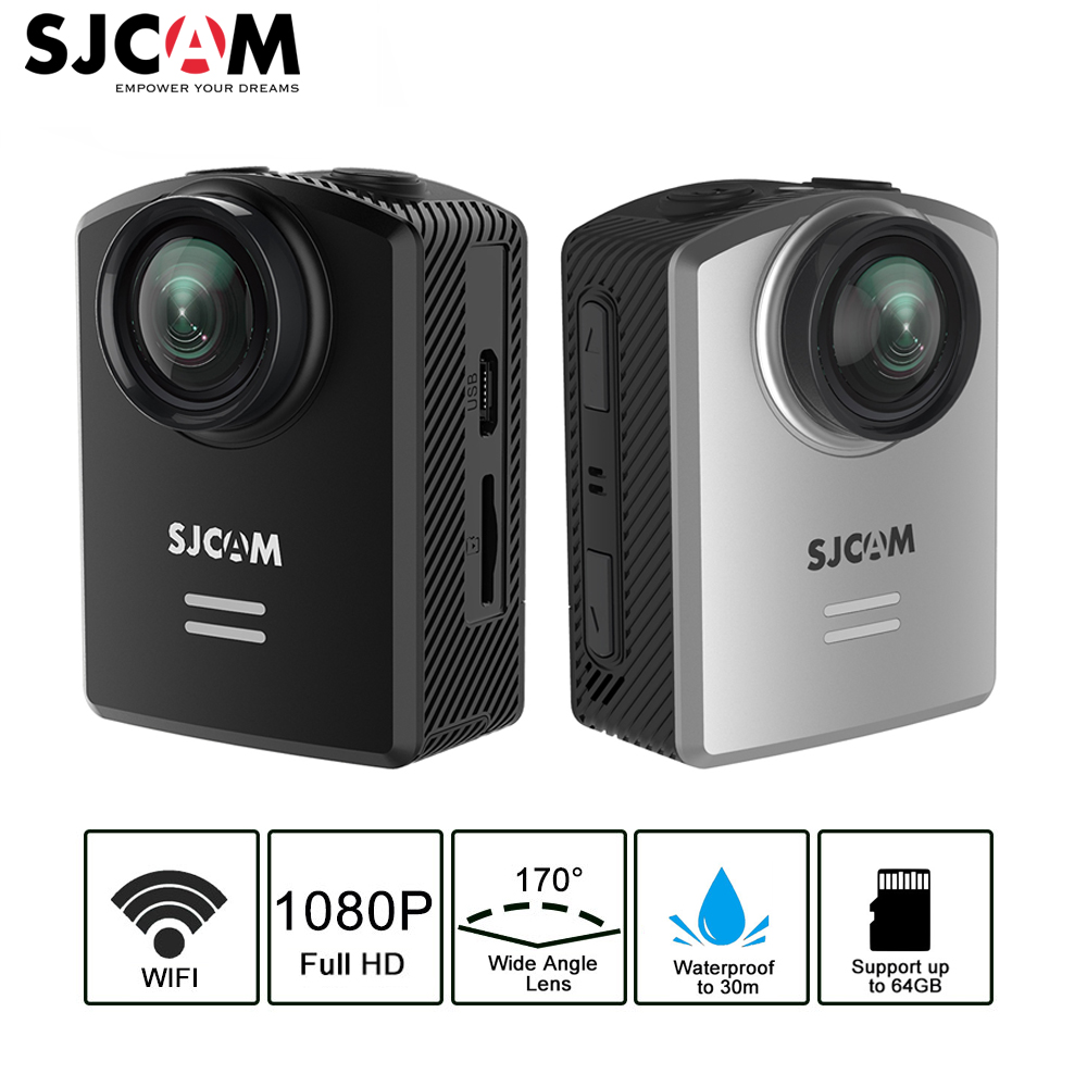 SJCAM M20 Air Action Cameras 40M Waterproof Sports Action Camera Full 1080P HD Camera WiFi NTK96658 Chipset Video DVR Camera 2017 fashion forsining watches men s brand day roman number flywheel auto mechanical watch wristwatch gift free ship