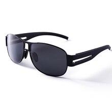 Bolo.ban New arrive HD Polarized UV400 square 65mm Sunglasses for men women 2 color fashion adult drive sun glasses 8459