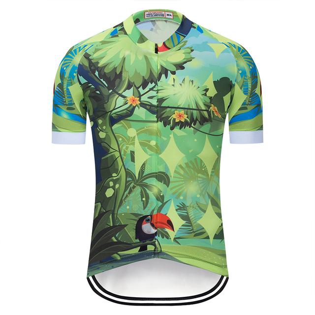 2019 Men's short sleeve cycling jerseys Cycling jerseys mtb cycle bicicleta bike only shirt cycling clothing