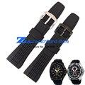 Силиконовая резина ремешок для часов водонепроницаемый черный спорт наручные часы полосы для SRH013 26 мм мужские часы ремешок браслет