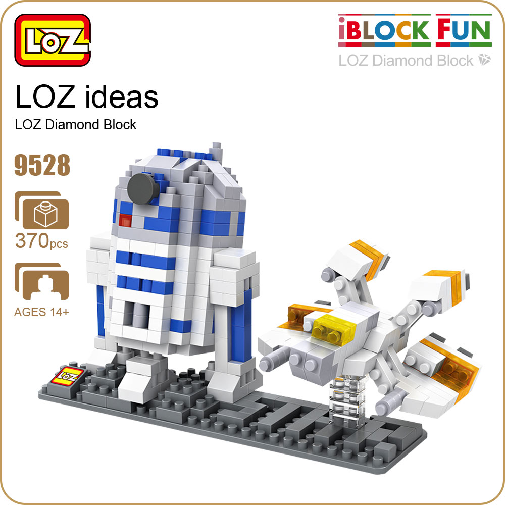 LOZ Micro Blocks Bricks Blocks Action Figure Toy Robot Kit Model Diamond Nano Block Buildings Hot Toys Hobbies Educational 9528 loz diamond blocks dans blocks iblock fun building bricks movie alien figure action toys for children assembly model 9461 9462