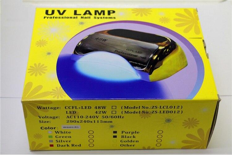 48w led UV ნათურა ფრჩხილის - ფრჩხილის ხელოვნება - ფოტო 6