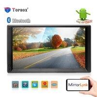 Новый Android 5,1 двойной 2Din автомобилей радио плеер 7 ''Универсальный WI FI gps навигации автомобилей Видео Стерео Аудио MP5 плеер HD Сенсорный экран