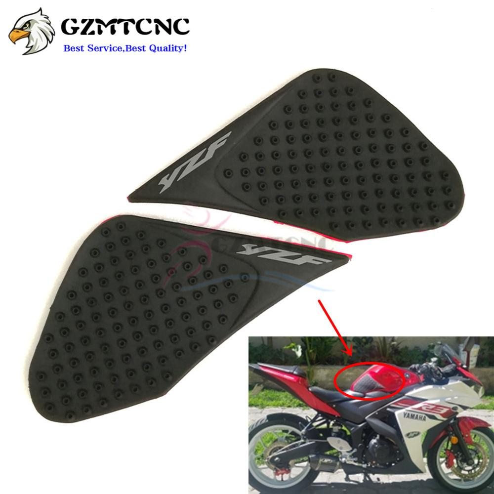 Decals & Stickers For Yamaha Yzfr3 Yzfr25 2015 2016 Yzf R3 R25 Motorcycle Anti Slip Oil Fuel Tank Traction Pad Protector Knee Side Decal Sticker Automobiles & Motorcycles