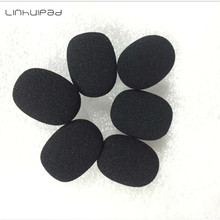 Foam microphone windscreen mic sponge cover 6mm inner diameter and 30mm length 10pcs /lot free shipping by post