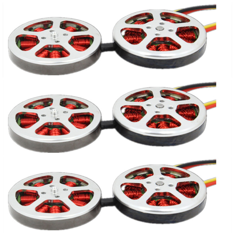 6pcs <font><b>5010</b></font> 360KV 750kv High Torque <font><b>Brushless</b></font> <font><b>Motors</b></font> For ZD550 ZD850 RC MultiCopter QuadCopter image