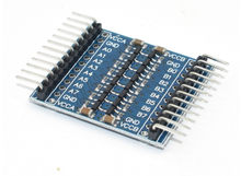 8 kanal 5V/3,3 V IIC UART SPI TTL Logic-Level-Converter für Raspberry Pi 8 kanal ebene umwandlung modul