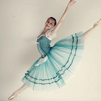custom made giselle ballet tutu costumes green ballerina dress,adult or chidren's Romantic long ballet dresses