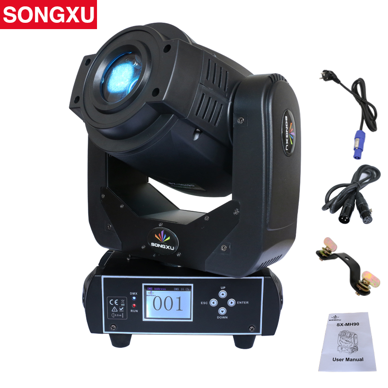Spot Lyre 90W Gobo LED Lyre Moving Head Light Spot Moving Head Light for Stage Theater