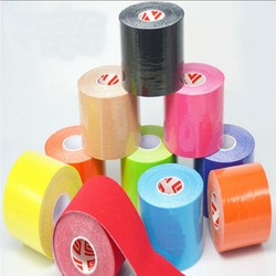 1 pcs 5cm 5m elastic kinesiology tape sports roll physio muscle strain injury support.jpg 250x250
