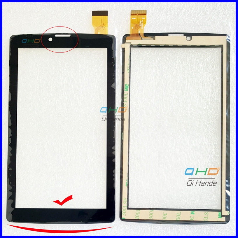 Note the picture  New For 7 inch Tablet PC Digitizer Touch Screen Panel Replacement part YLD-CEG7253-FPC-A0  yld-ceg7253-fpc-ao new 7 touch screen digitizer replacement fpc ctp 0700 066v7 1 tablet pc