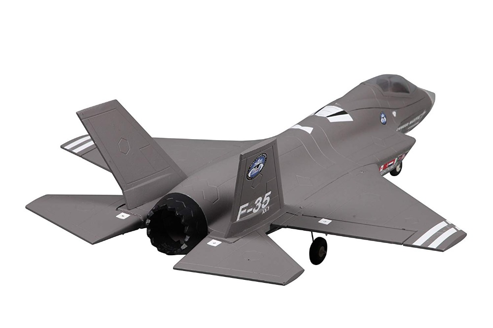 FMS 64mm F35 F-35 V2 Lightning Ducted Fan EDF Jet EPO RC Airplane Scale Modern Fighter Model Hobby Plane Aircraft Avion PNP