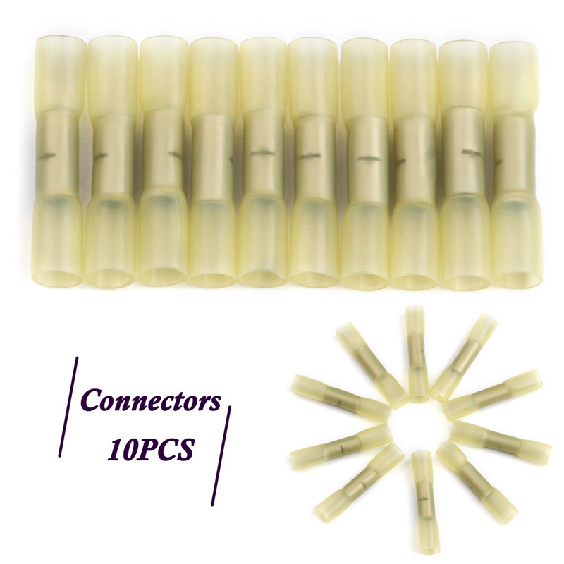 30 GB Female Heavy Duty Yellow Spade Terminals for 12-10  wire