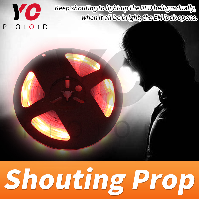 Shouting Prop Room Escape Games Decibel Prop keep shouting to light up the belt gradually in red then in blue to unlock YOPOODShouting Prop Room Escape Games Decibel Prop keep shouting to light up the belt gradually in red then in blue to unlock YOPOOD